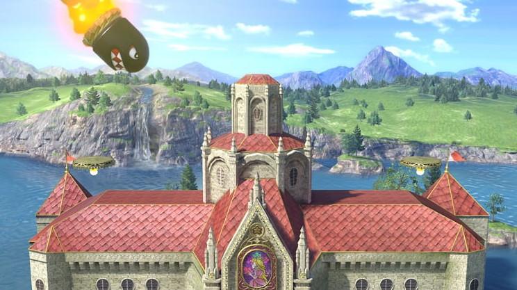 Stage Super Mario Bros Princess Peach S Castle Melee