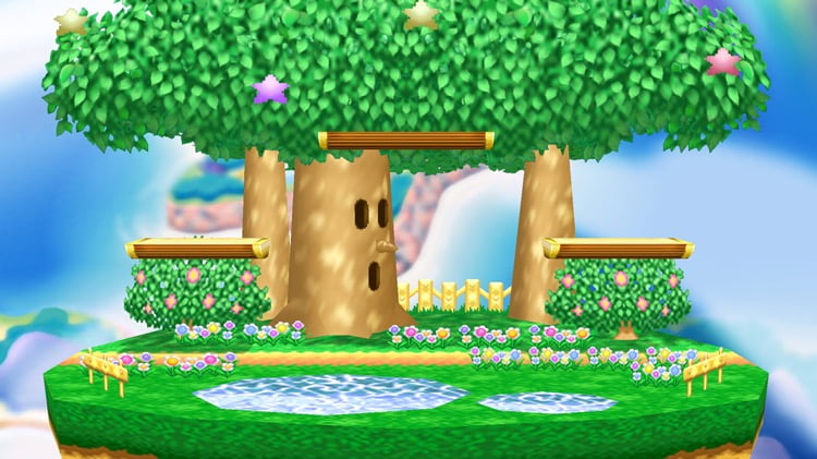 Stage Kirby Dream Land N64 Super Smash Bros Ultimate