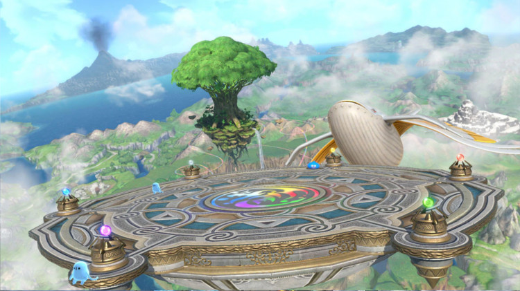 Stage Dragon Quest XI - Yggdrasil's Altar | Super Smash Bros  Ultimate