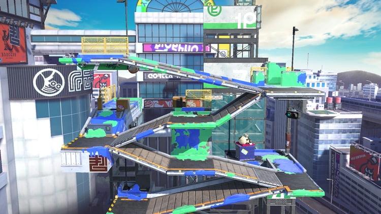 stage splatoon moray towers ultimate super smash bros ultimate