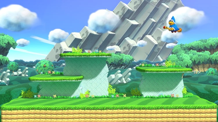 Stage Super Mario Bros Mushroom Kingdom U Wiiu Super Smash