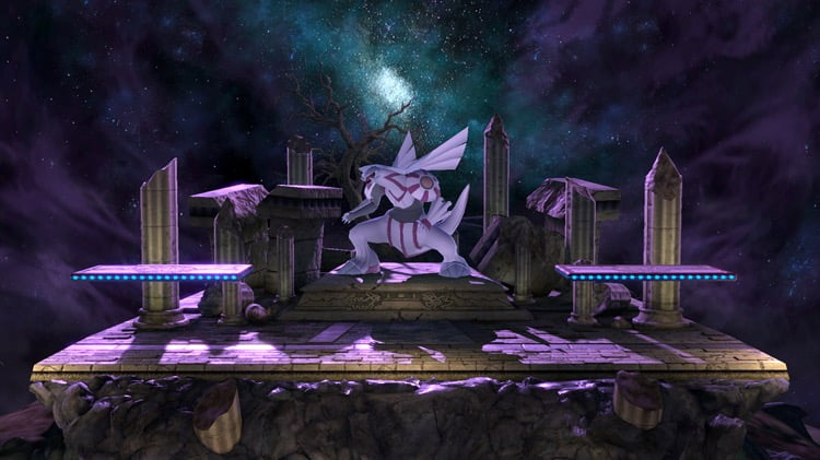 Stage Pok 233 Mon Spear Pillar Brawl Super Smash Bros